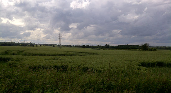 Countryside of north Essex